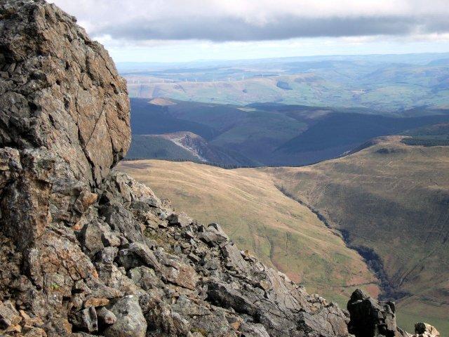 Cadair Idris rock formations
