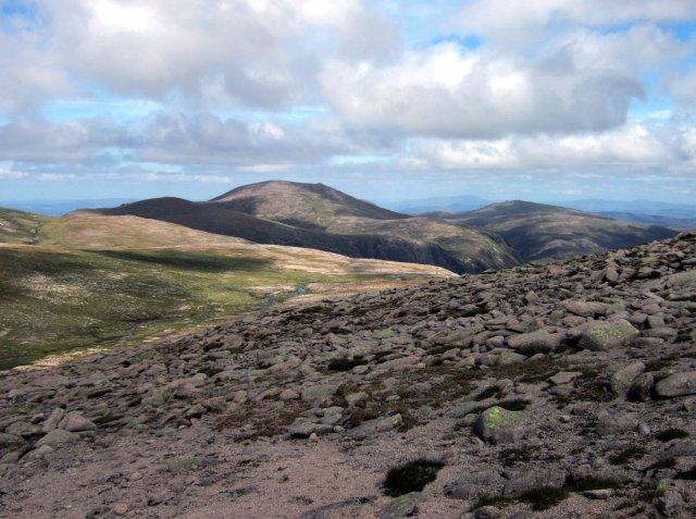 Cairngorm from Ben Macdui