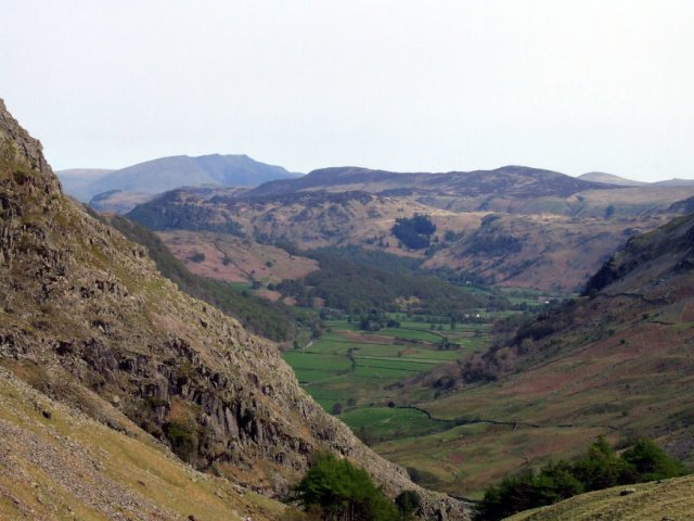 Seathwaite from Sty Head