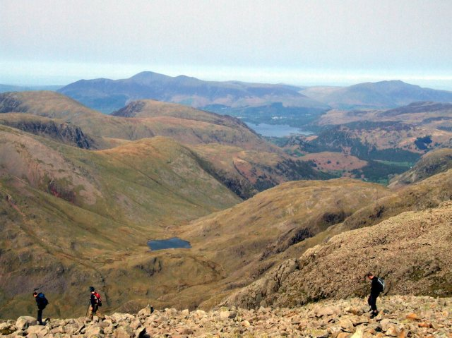 Skiddaw from Scafell Pike