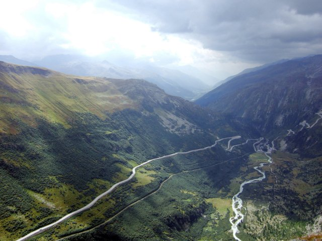 Furka Pass Road
