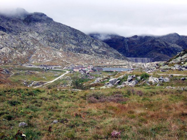 St Gotthard landscape