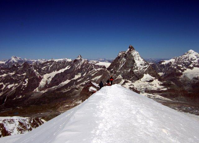 Matterhorn from Breithorn