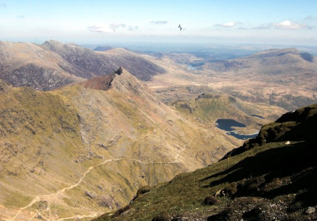 Crib Goch from Snowdon