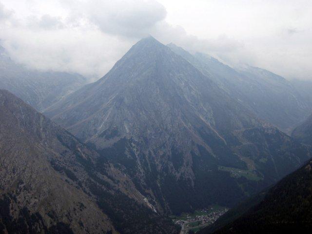 Saas Fee mountains