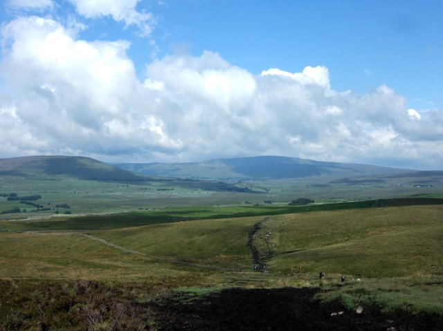 Whernside from the Pennine Way