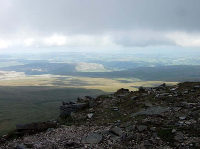 The summit of Ingleborough