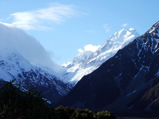 Mount Cook from the Hooker Valley