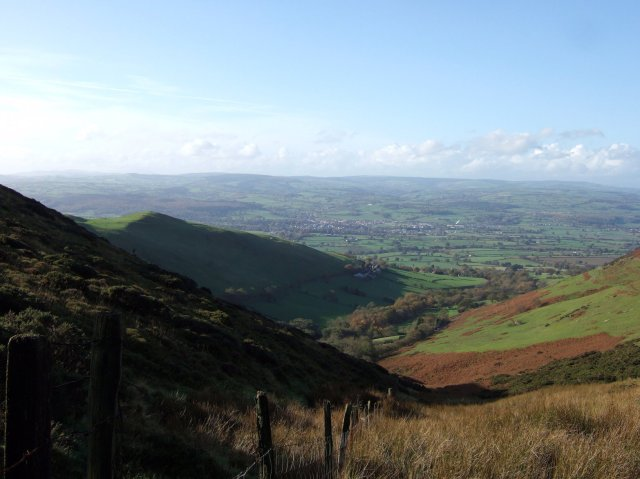The Vale of Clwyd near Ruthin