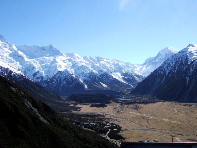 The Hooker Valley and Aoraki