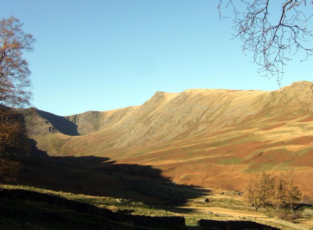 View of Kidsty Pike from Riggindale