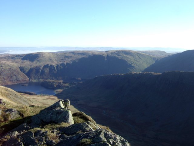 The summit of Kidsty Pike