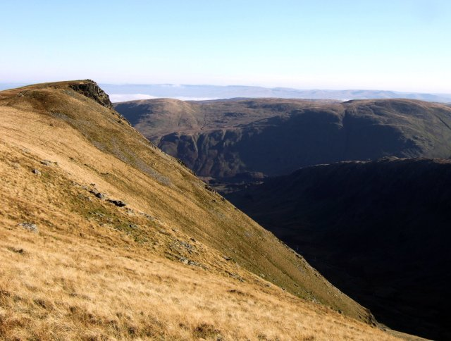 Looking back to Kidsty Pike