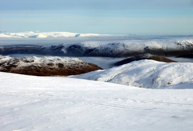 The Pennines from Great Dodd