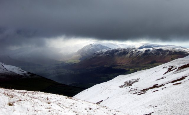 West from the Whinlatter Fells