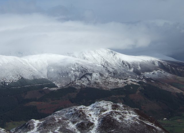 Skiddaw in winter garb