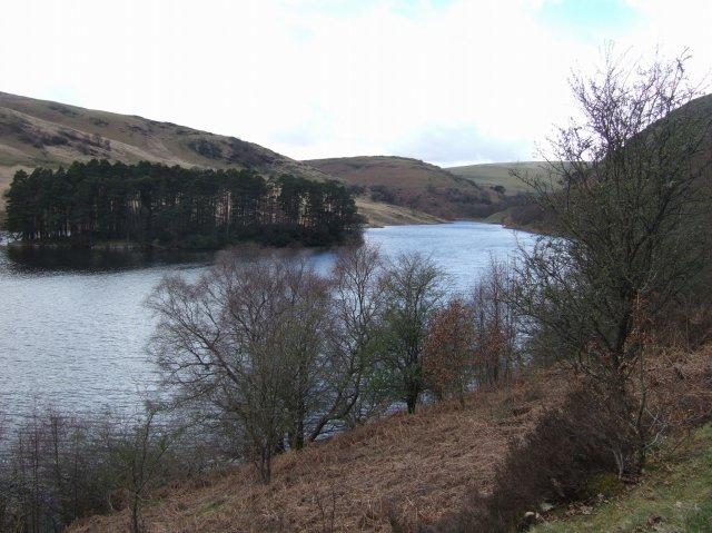 Penycarreg Reservoir Mid Wales