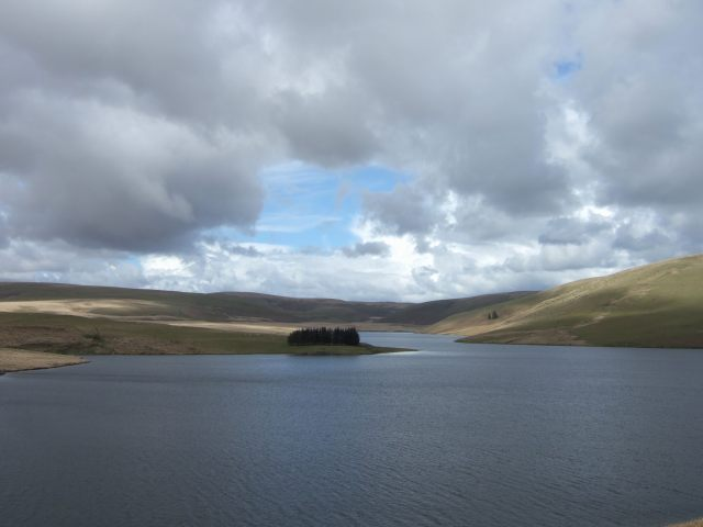 craig Goch Reservoir in the Cambrian Mountains
