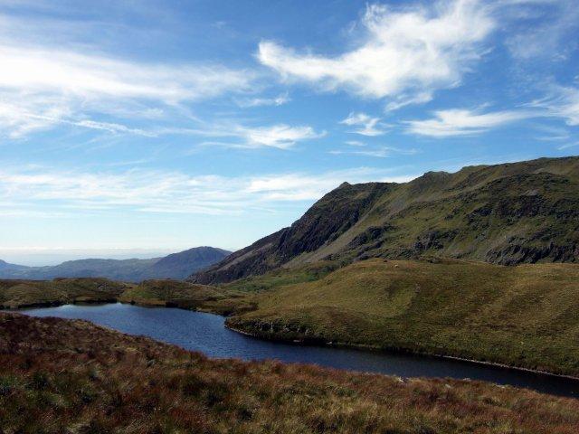 Welsh mountain tarn