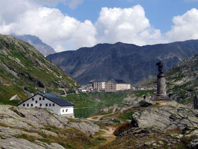 Summit of St bernard Pass