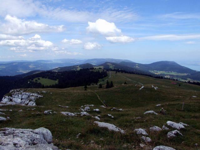 Chasseron summit plateau