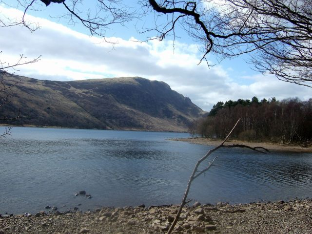 Ennerdale Water from the bike trail