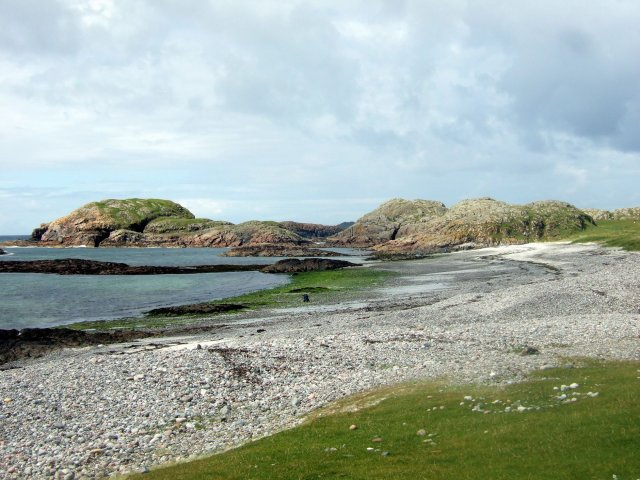 View from Iona golf course