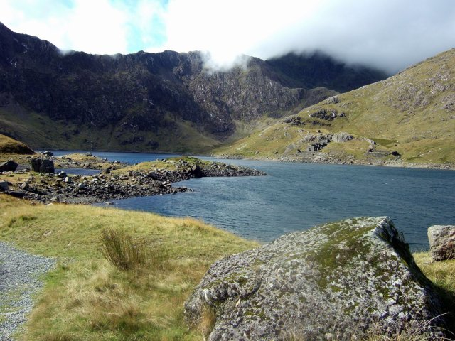Snowdon and the Miners track