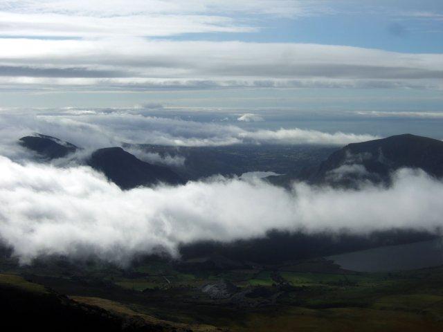 Nantlle Ridge and Llyn Cwellyn