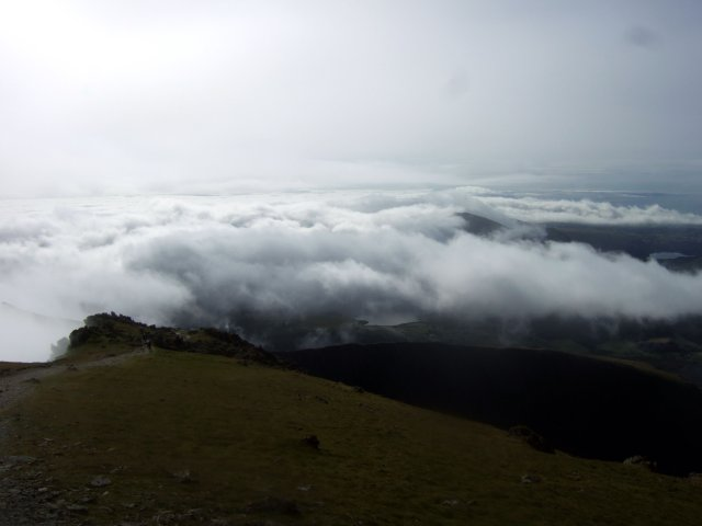 Snowdonia cloud sea