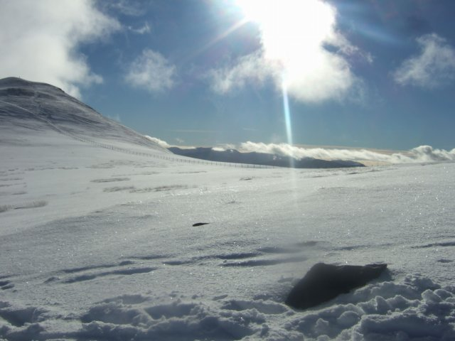 Sun and snow in the Lake District