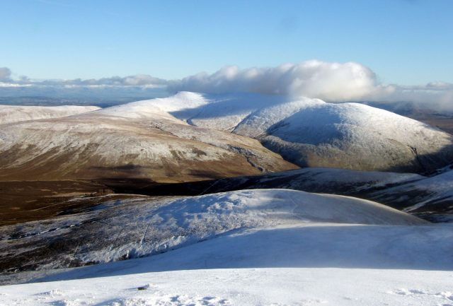 View of Blencathra from Skiddaw