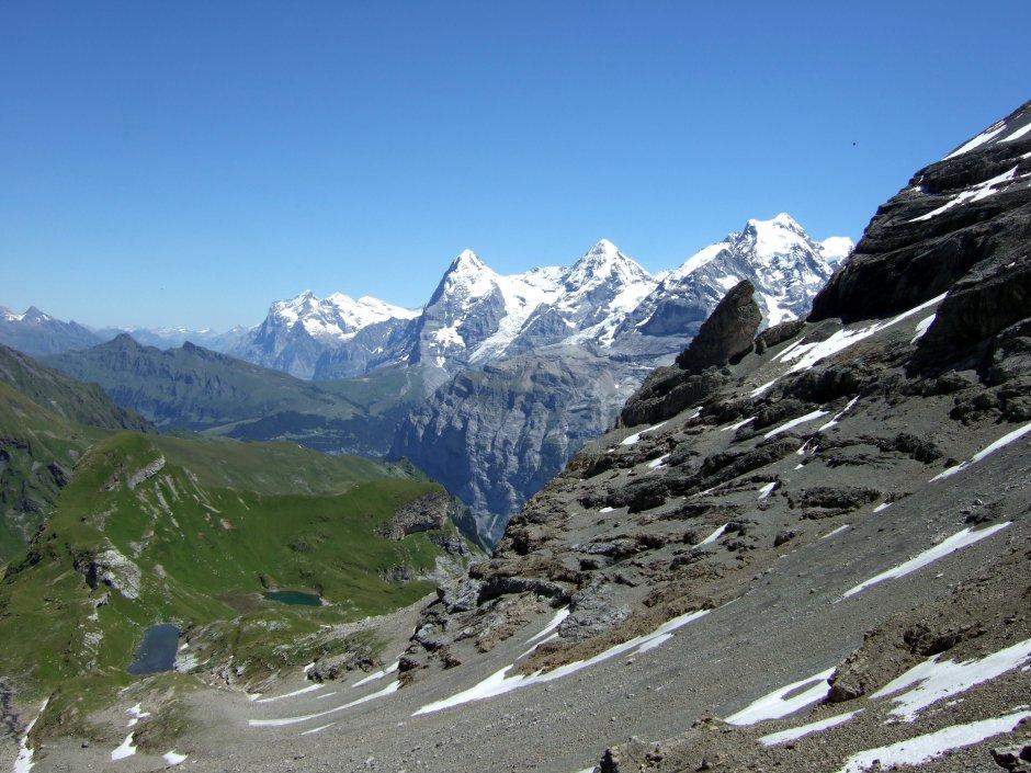 Bernese Oberland peaks