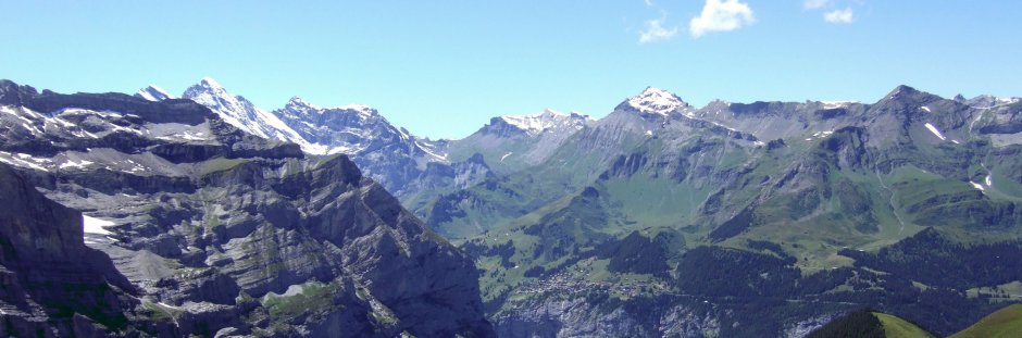 The eiger to the Matterhorn hike