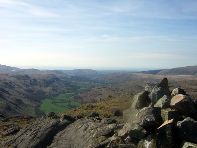 Eskdale from Hard Knott