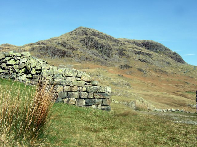 Hard Knott from the fort