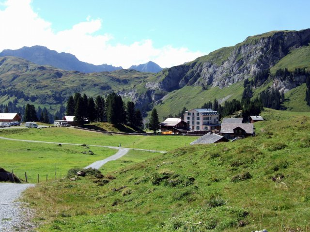 alpine village of Engstlenalp