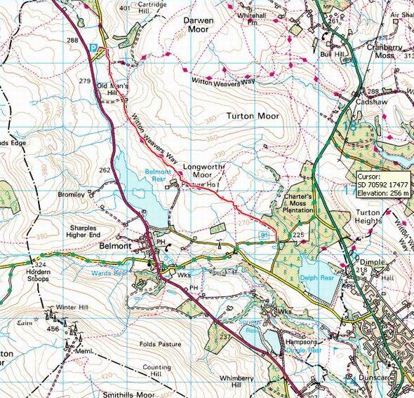 Witton Weavers Way MTB trail
