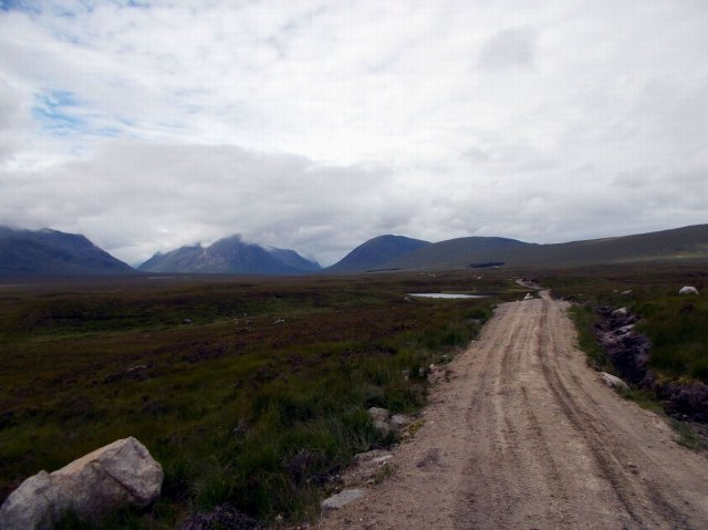 bike track over rannoch