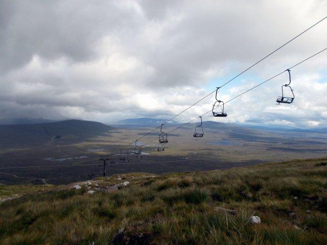 glencoe mountain chairlift