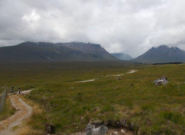 Blackmount and glen etive