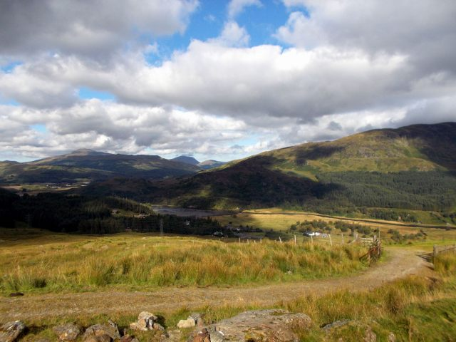 start of the ben more path