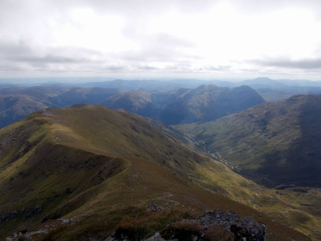 the trossachs from stobinian