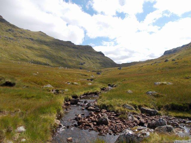 wild highland glen