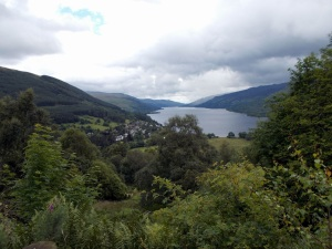 lochearn from the glen ogle cycle path