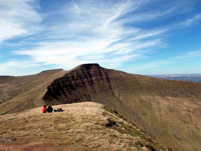 views of the brecon beacons south wales