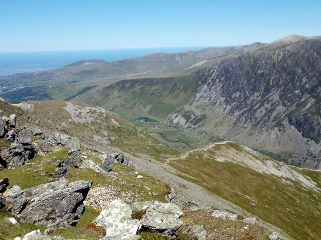 mountains of north wales y garn