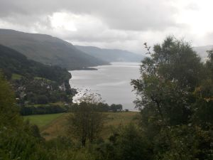 Loch Earnhead from the Glen Ogle Path