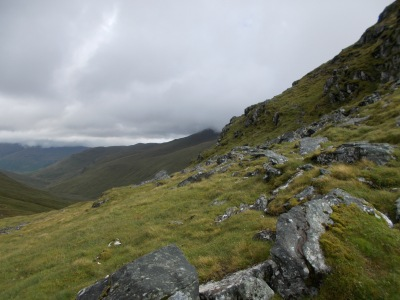 Route up Ben Lawers