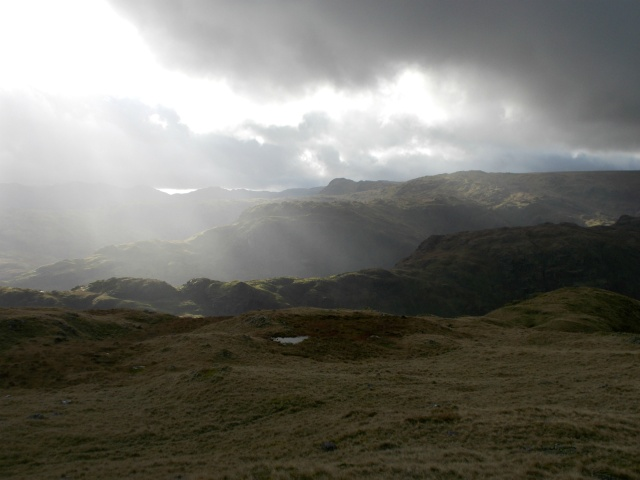 Towards Langdale and Coniston